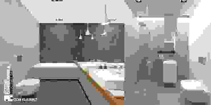 WNĘTRZE KIJEWKO Nowoczesna łazienka od GÓRSKI CHMIELEWSKA ARCHITEKCI Nowoczesny