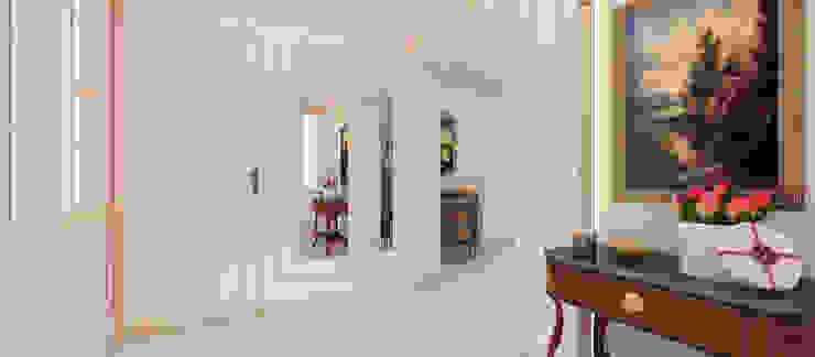 Pasillos y recibidores de estilo  por Kerim Çarmıklı İç Mimarlık