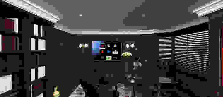 A.G. Evi Klasik Çalışma Odası Kerim Çarmıklı İç Mimarlık Klasik