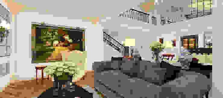 A.G. Evi Klasik Oturma Odası Kerim Çarmıklı İç Mimarlık Klasik