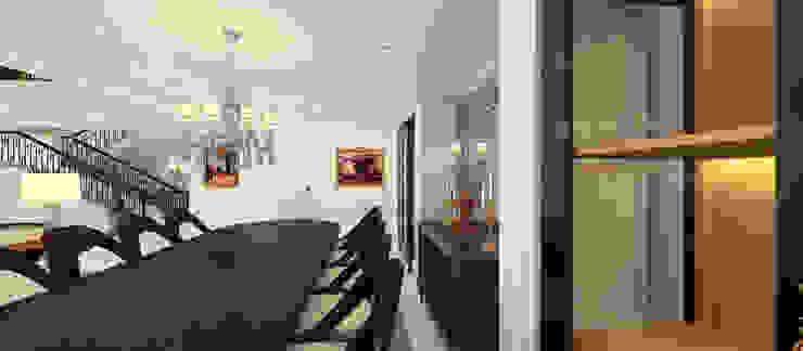 A.G. Evi Klasik Yemek Odası Kerim Çarmıklı İç Mimarlık Klasik