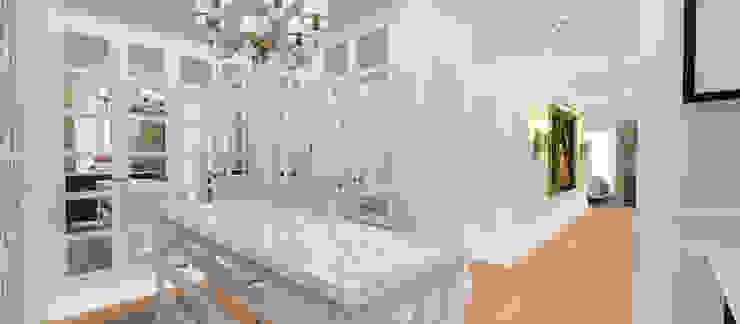 A.G. Evi Kerim Çarmıklı İç Mimarlık Klasik Giyinme Odası