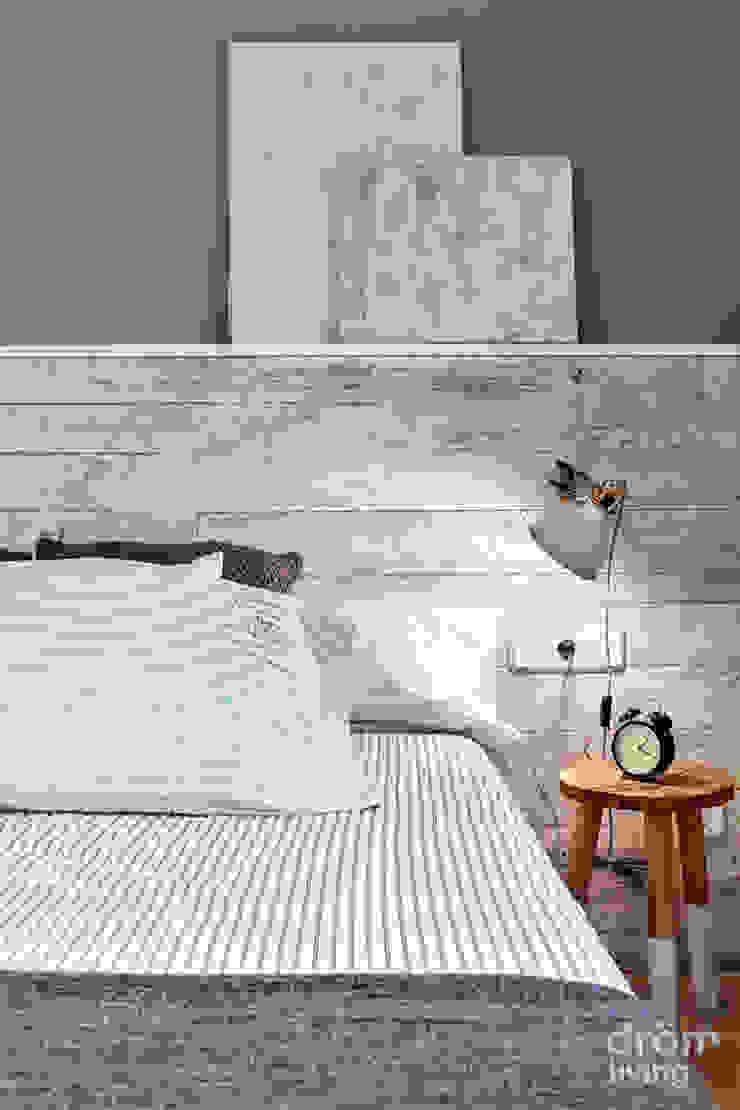 32 m2 mediterráneos Dröm Living DormitoriosCamas y cabeceros