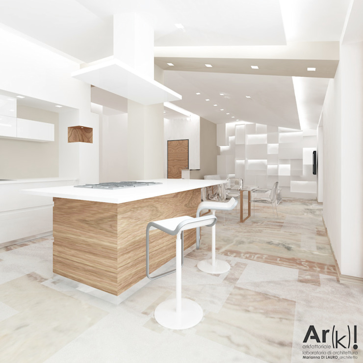 Modern Kitchen by arkfattoriale Modern