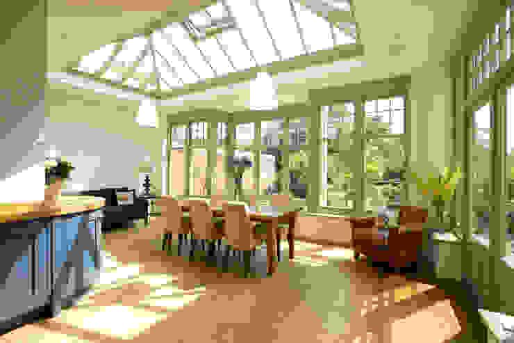 Orangery in Cambridge Modern conservatory by Westbury Garden Rooms Modern Wood Wood effect
