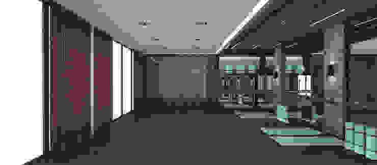 Spora Club Asyatik Fitness Odası Kerim Çarmıklı İç Mimarlık Asyatik