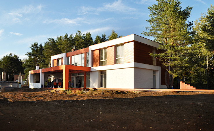 Houses by homify, Modern Wood Wood effect