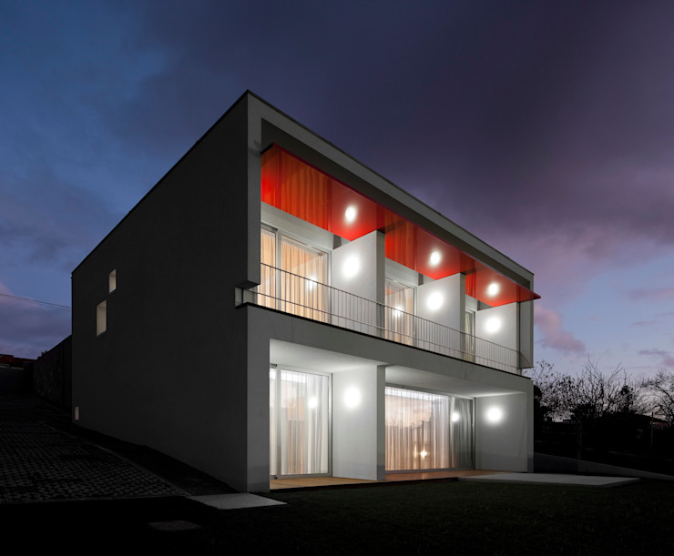 Casa em Souto Casas modernas por Nelson Resende, Arquitecto Moderno
