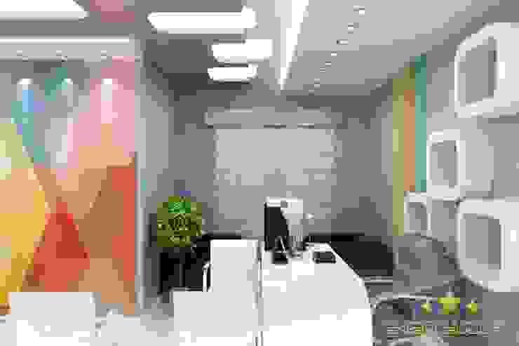 ofis Asyatik Çalışma Odası EN+SA MİMARİ TASARIM DEKORASYON MOB.İNŞ.SAN. VE TİC .LTD. ŞTİ Asyatik Ahşap Ahşap rengi
