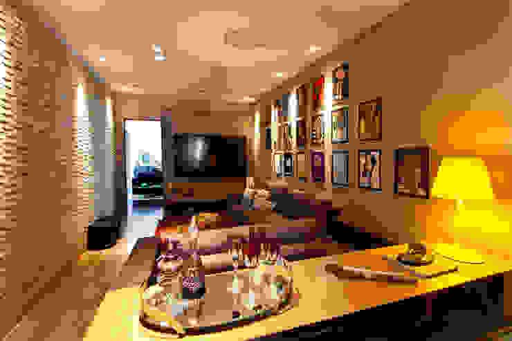 sala de estar Salas de estar modernas por Flaviane Pereira Moderno