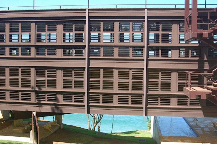 Casa na Praia do Tenório - Ubatuba Casas modernas por Viggiani Arqitetura Moderno