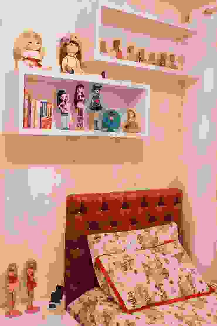 Projeto de arquitetura de interiores residencial. Quarto infantil moderno por Elaine de Bona Arquitetura e Interiores Moderno