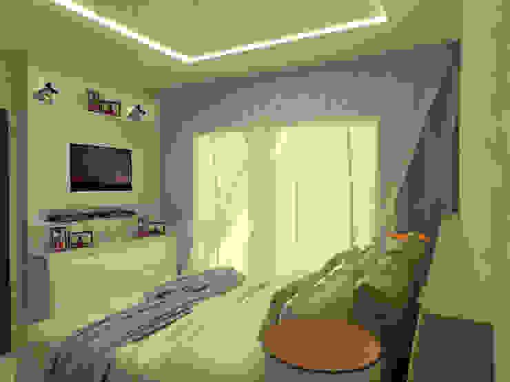 Modern style bedroom by Elaine de Bona Arquitetura e Interiores Modern