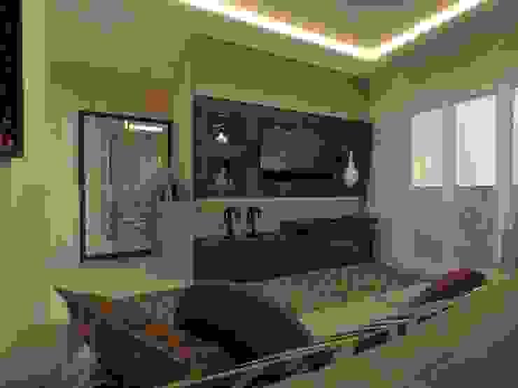 Modern living room by Elaine de Bona Arquitetura e Interiores Modern