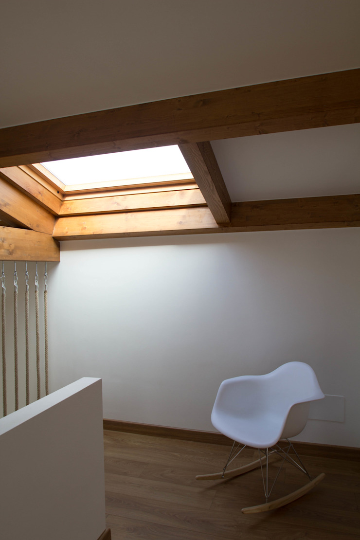 Rustic style study/office by R. Borja Alvarez. Arquitecto Rustic