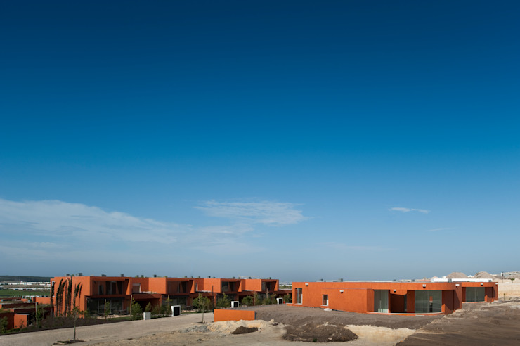 O House – Bom Sucesso, Design Resort, Leisure & Golf, Óbidos Casas mediterrânicas por Atelier dos Remédios Mediterrânico