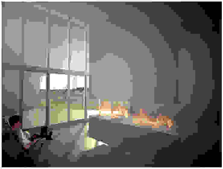 Casa Rosetta Salones minimalistas de Diego Jobell Arquitectos Minimalista Hormigón
