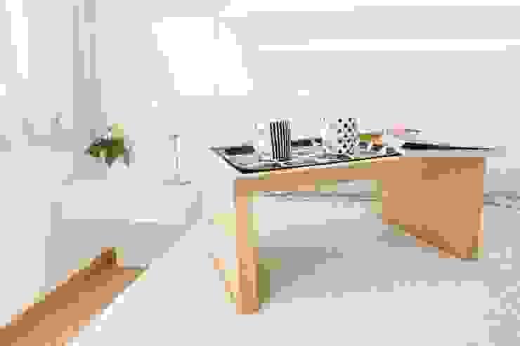 Departamento CONCEPCION ARENAL Salones minimalistas de Trua arqruitectura Minimalista