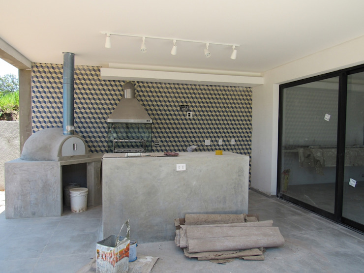 Projeto Residencial Contemporâneo Casas minimalistas por Gloria Cabo Arquitetura Minimalista Concreto