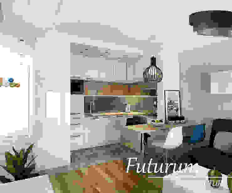 Cocinas modernas: Ideas, imágenes y decoración de Futurum Architecture Moderno