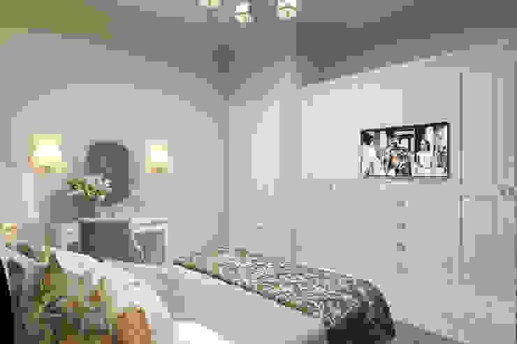 Квартира в жилом доме на ул. Ленина Спальня в эклектичном стиле от Студия авторского дизайна ASHE Home Эклектичный