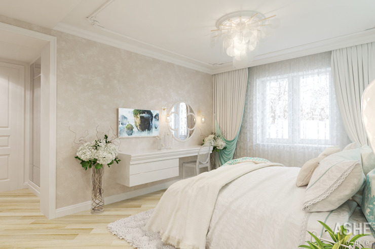 Classic style bedroom by Студия авторского дизайна ASHE Home Classic
