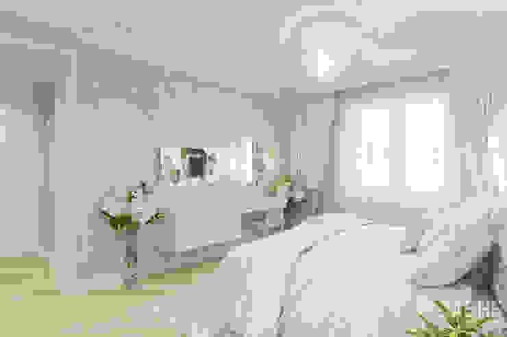 Квартира на ул. Менделеева в Уфе Спальня в классическом стиле от Студия авторского дизайна ASHE Home Классический