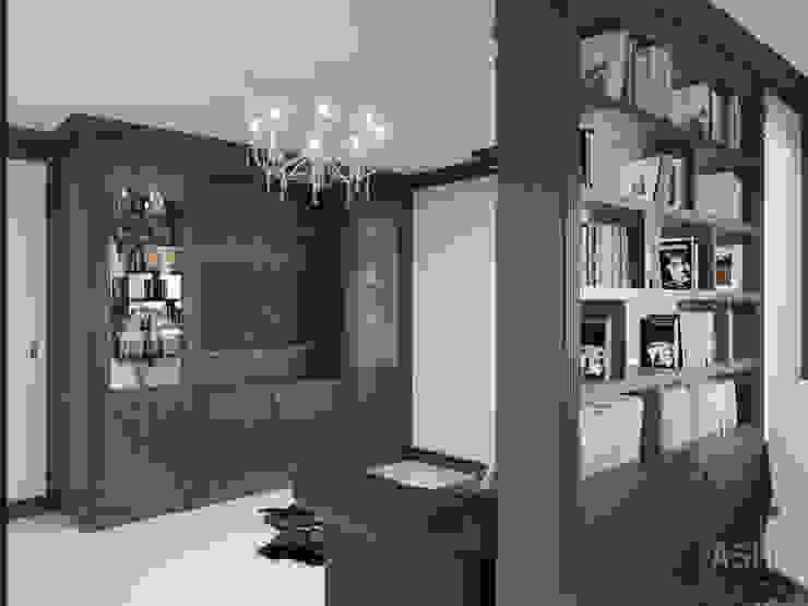 Espaços de trabalho clássicos por Студия авторского дизайна ASHE Home Clássico