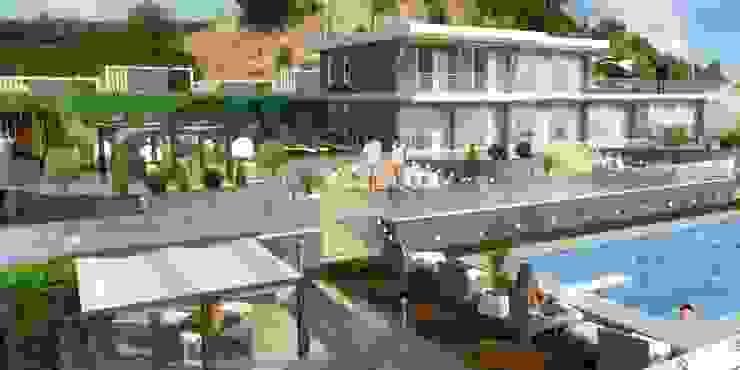 Modern Houses by Mimari 3D Render Modern