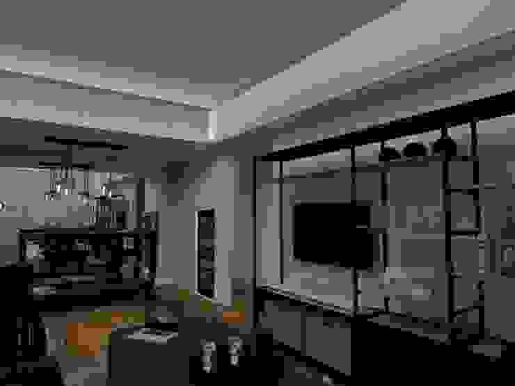 Trua arqruitectura Modern living room