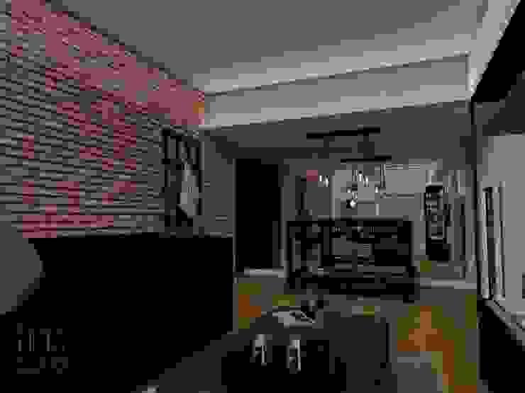 Proyectos Livings modernos: Ideas, imágenes y decoración de Trua arqruitectura Moderno
