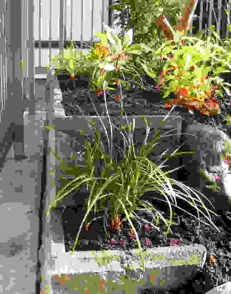小さな池のある庭 | Kamakura オリジナルな 庭 の jardinier Kirikui オリジナル