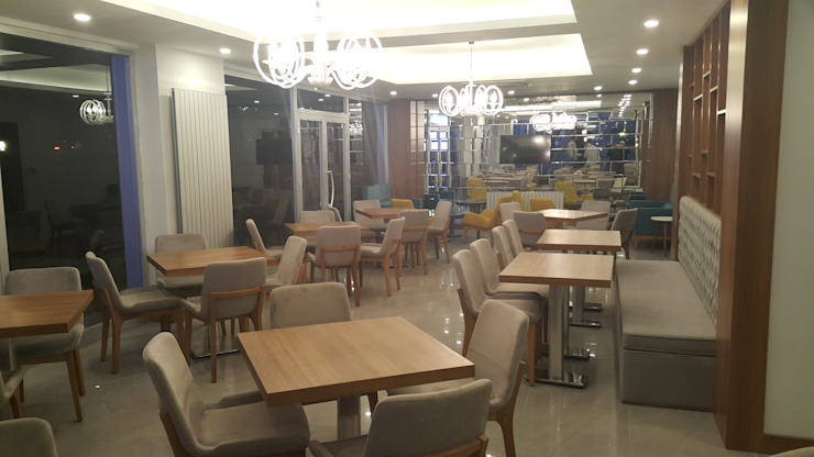 ADE - Ali Salkım Mimarlık – Business Palas Otel / İzmit: modern tarz , Modern