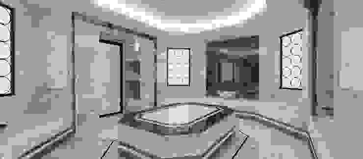 Türk Hamamı Modern Banyo Kerim Çarmıklı İç Mimarlık Modern Mermer