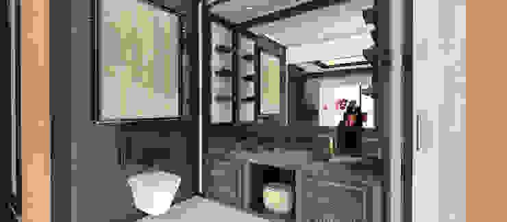 A.U.D EVİ Modern Banyo Kerim Çarmıklı İç Mimarlık Modern