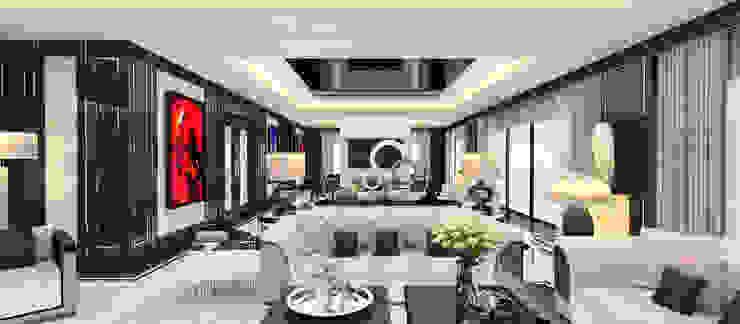 A.U.D EVİ Modern Oturma Odası Kerim Çarmıklı İç Mimarlık Modern