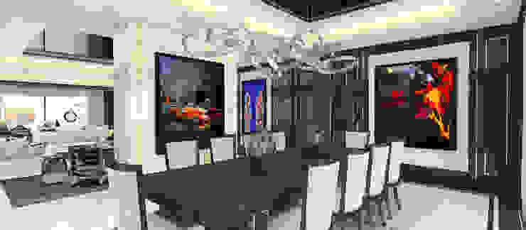 A.U.D EVİ Modern Yemek Odası Kerim Çarmıklı İç Mimarlık Modern