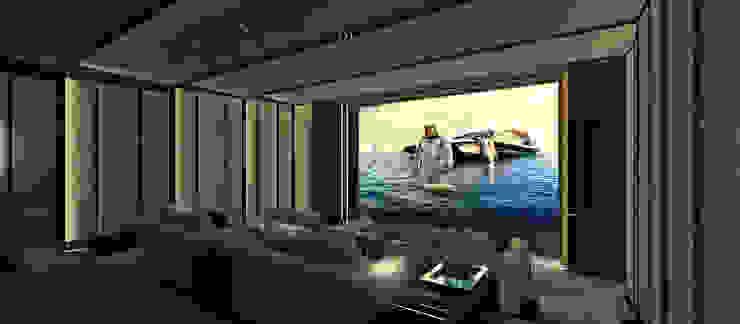 Media room by Kerim Çarmıklı İç Mimarlık, Modern