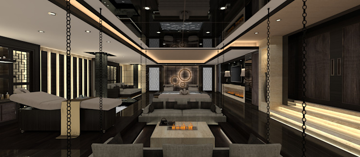 A.U.D EVİ Modern Spa Kerim Çarmıklı İç Mimarlık Modern
