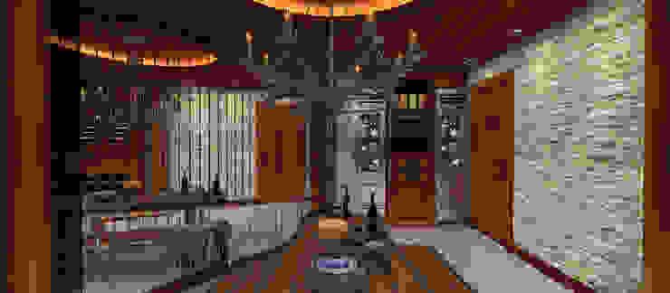 A.U.D EVİ Modern Şarap Mahzeni Kerim Çarmıklı İç Mimarlık Modern