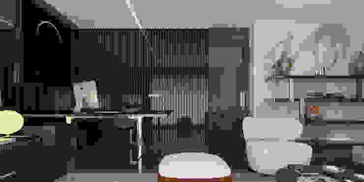 A.U.D EVİ Modern Çalışma Odası Kerim Çarmıklı İç Mimarlık Modern