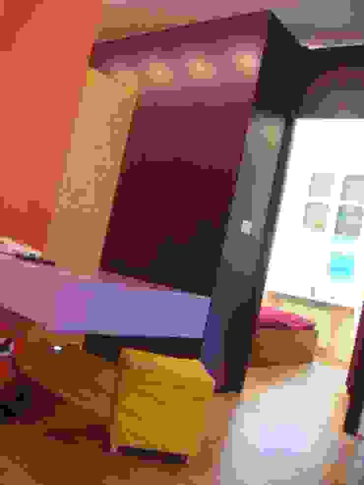 Di Origine Progettuale DOParchitetti Moderne Arbeitszimmer Mehrfarbig