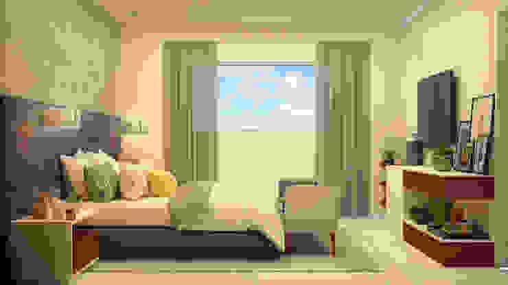 Dormitorios modernos: Ideas, imágenes y decoración de CONTRASTE INTERIOR Moderno