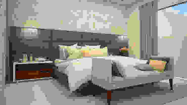 Modern Bedroom by CONTRASTE INTERIOR Modern