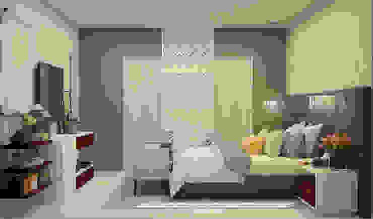 Casa Dzitya Dormitorios modernos de CONTRASTE INTERIOR Moderno