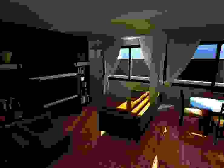 Casa Sanchez Salas de estilo moderno de Arquitecto Eduardo Carrasquero Moderno