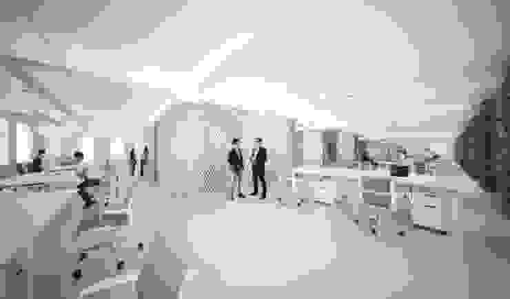 Directions - AIM Coworking Space Design Competition, Beijing por João Araújo Sousa & Joana Correia Silva Arquitectura