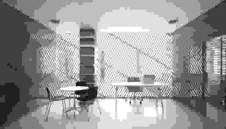 Directions – AIM Coworking Space Design Competition, Beijing por João Araújo Sousa & Joana Correia Silva Arquitectura