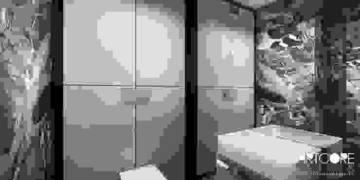 Summer Wine – projekt wnętrza domu Nowoczesna łazienka od ArtCore Design Nowoczesny
