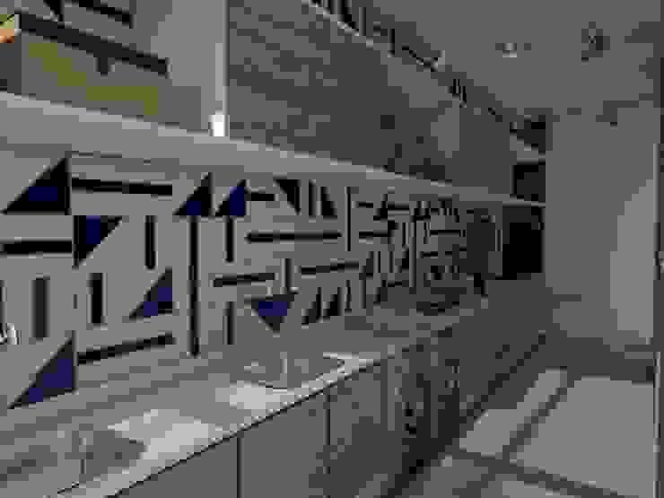 Depois | Lavanderia por Studio M Arquitetura